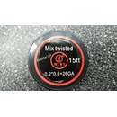 Mix Twisted Wire (0,2mm*0,8mm+26GA) 5m