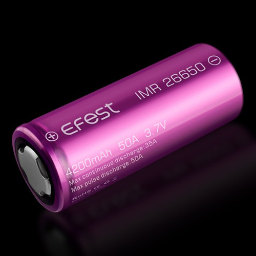 Efest Purple IMR26650 4200mAh, High Drain 35A