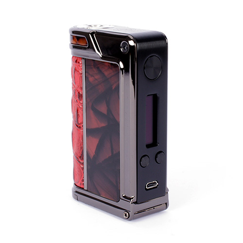 Lost Vape Paranormal DNA166 SP Gunmetal/Red Crocodile