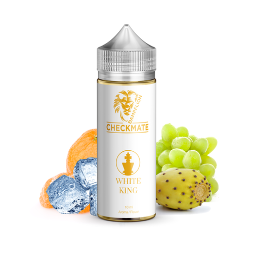 Dampflion Aroma White King 10ml in 120ml Chubby