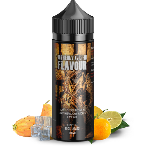 The Vaping Flavour Chapter 4 Rick Limes